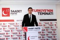 YEREL SEÇIM - SP İl Başkanı Mahmut Arıkan Açıklaması  'Saadet Partisi Kendi Cumhurbaşkanı Adayını Çıkaracak'