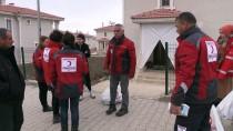 Türk Kızılayından Ahıska Türklerine Gıda Yardımı