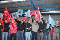 GREV - Türk Metal Sendika Üyesi İşçilerin Protesto Eylemi