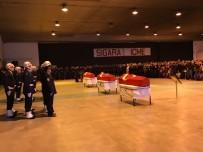YıLMAZ BÜYÜKERŞEN - Uçak Kazasında Şehit Olan Askerler İçin Uğurlama Töreni