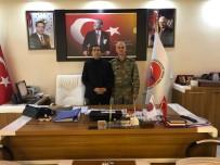 PİYADE ALBAY - 6. Hudut Alay Komutanı Yenilmez'den Başkan Kahraman'a Ziyaret