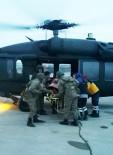 Ağrı'da Jandarma Ekipleri Hamile Kadını Kurtardı