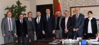 KARAHASAN - AK Parti İl Başkanı Ünlü'den Özel İdareye Ziyaret