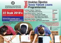 Anadolu Üniversitesi Uzaktan Öğretim Tezsiz Yüksek Lisans Programlarına 5 Yeni Program Eklendi