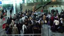 UMRE - Atatürk Havalimanı'nda Yarıyıl Tatili Yoğunluğu