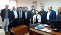 AYDıN DEVLET HASTANESI - Aydın Sağlık-Sen'den Aydın Devlet Hastanesi'nin Yeni Yönetimine Ziyaret