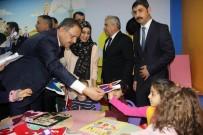 CUMALI ATILLA - Bakan Özhaseki, Minik Öğrencilere Karne Dağıttı