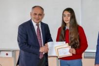 Başkan Öztürk Öğrencilere Karne Dağıttı