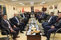 ÇANAKKALE ŞEHITLERI - Başkan Şirin MİS Yönetim Kurulunu Ağırladı