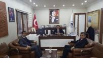 MEHMET ÖZDEMIR - Başkan Yalçın'a Ziyaretler