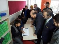 BILAL ERDOĞAN - Bilal Erdoğan, Görme Engelli Öğrencilere Karnelerini Dağıttı