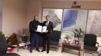 HASAN ÇOBAN - Burhaniye'de İdarecilere Teşekkür Belgesi