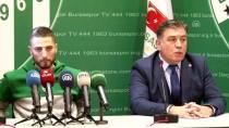 TRANSFER DÖNEMİ - Bursaspor'da Grozav İçin İmza Töreni