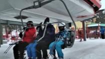 Cıbıltepe Kayak Merkezi'nde Sömestir Yoğunluğu