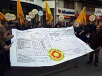 BIBER GAZı - Eğitim-Sen'in Karneli Eylemine Polis Müdahalesi