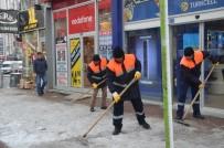 POTASYUM - Ereğli Belediyesinden Kar Yağışına Erken Müdahale