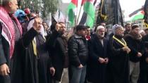 FILISTIN - Gazze'de Kudüs Protestoları