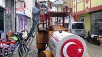 TERMAL TURİZM - Hurda Araçlarla 'Gezi Treni'