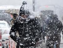 ŞİDDETLİ YAĞIŞ - İstanbul'a kar geliyor