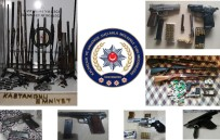 KURUSIKI TABANCA - Kaçak Silah Satıcılarına Yönelik Operasyonda 1 Kişi Tutuklandı