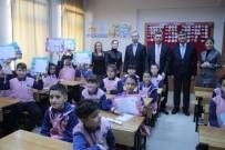 MİMAR SİNAN - Kaymakam Keçeli Öğrencilere Karne Dağıttı