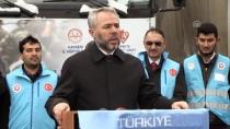HELAL - Kayseri'den Suriyelilere 10 Tırlık Yardım