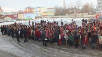 GAZİ İLKÖĞRETİM OKULU - Malazgirt'te Karne Sevinci