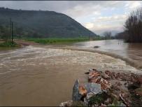 SEL BASKINLARI - Milas'ta Tarım Arazileri Sular Altında Kaldı
