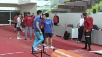 AKDENİZ OYUNLARI - Milli Cimnastikçilerin Mersin Kampı Sürüyor