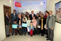 Milli Eğitim Müdürü Elmalı Karne Alan Şehit Çocuklarını Ödüllendirdi