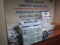 ELEKTRONİK SİGARA - Niğde'de Kaçak Sigara Satıcısı 2 Kişi Tutuklandı