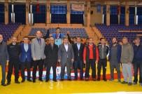 MİMAR SİNAN - Okullar Arası Güreş Müsabakaları Tamamlandı