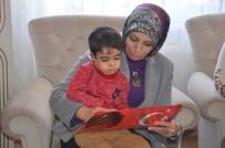 EVDE EĞİTİM - Evde Eğitim Alan Minik Efe'nin Karne Sevinci