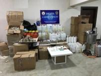 ELEKTRONİK SİGARA - Sakarya'da Kaçak Elektronik Sigara Ve Likid İmalathanesine Baskın Açıklaması 2 Gözaltı
