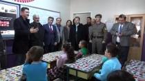 EDIZ SÜRÜCÜ - Şehit Polis Fethi Sekin'in Babası Miniklere Karne Dağıttı