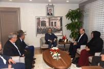 Sendika Başkanları, Vali Demirtaş'ı Ziyaret Etti