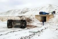 Sivas'ta Trafik Kazası Açıklaması 7 Yaralı
