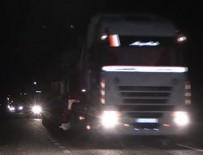 Suriye sınırına askeri sevkiyat: 20 araçlık konvoy Kilis'e ulaştı!