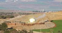 ASKERİ ARAÇ - Türk Obüsleri Afrin'i Vurmaya Devam Ediyor