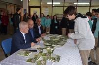Yazar Çapkıner'den Gazi Ortaokulu'nda İmza Günü