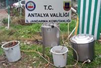 SAHTE İÇKİ - Antalya'da Sahte İçki Baskını