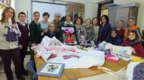 BEZ BEBEK - Balıkesir'de Kursiyer Kadınlar Kırkyama Yarışmalarına Katılacaklar