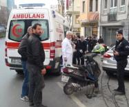 TARLABAŞı - Beyoğlu'nda Görünmez Kaza Açıklaması 1 Yaralı