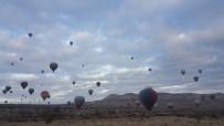 Kapadokya'da balonlar havalandı