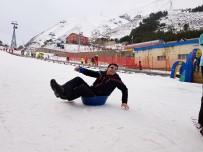 KIŞ TURİZMİ - Kardan Adam, Sezonu Açıyor