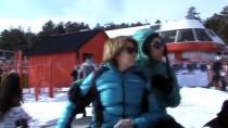 Kars'ta atlı kızaklar sezonu açtı