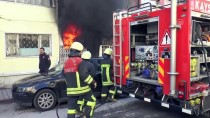 İKİNCİ EL EŞYA - Kayseri'de İş Yeri Yangını