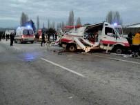 HITIT ÜNIVERSITESI - Kazaya Karışan TIR Sürücüsü Tutuklandı