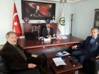HIZMET İŞ SENDIKASı - Kütükçü'den Başkan Erdoğan'a Ziyaret