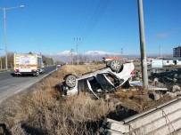 ORÇUN - Otomobil Takla Attı Açıklaması3 Yaralı
